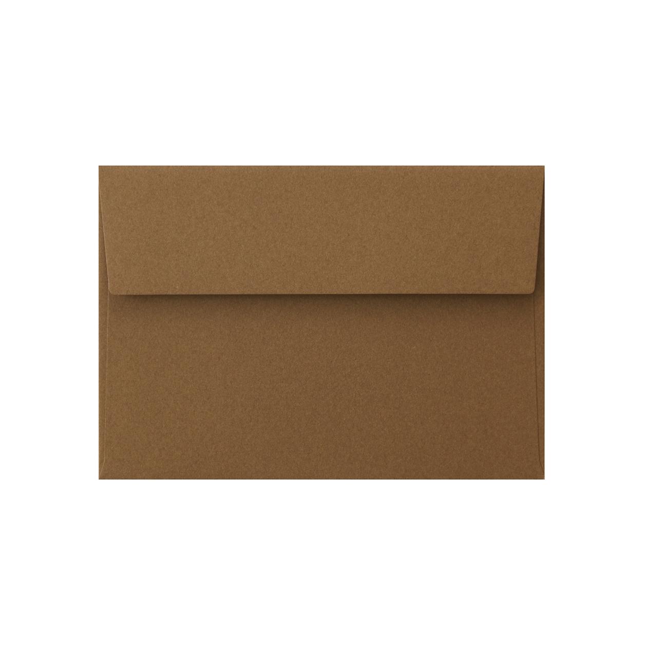 洋2カマス封筒 コットン(NTラシャ) セピア 116.3g