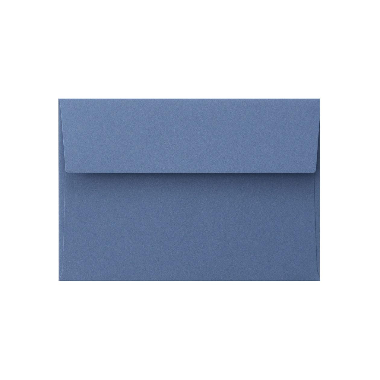 洋2カマス封筒 コットン(NTラシャ) 群青 116.3g
