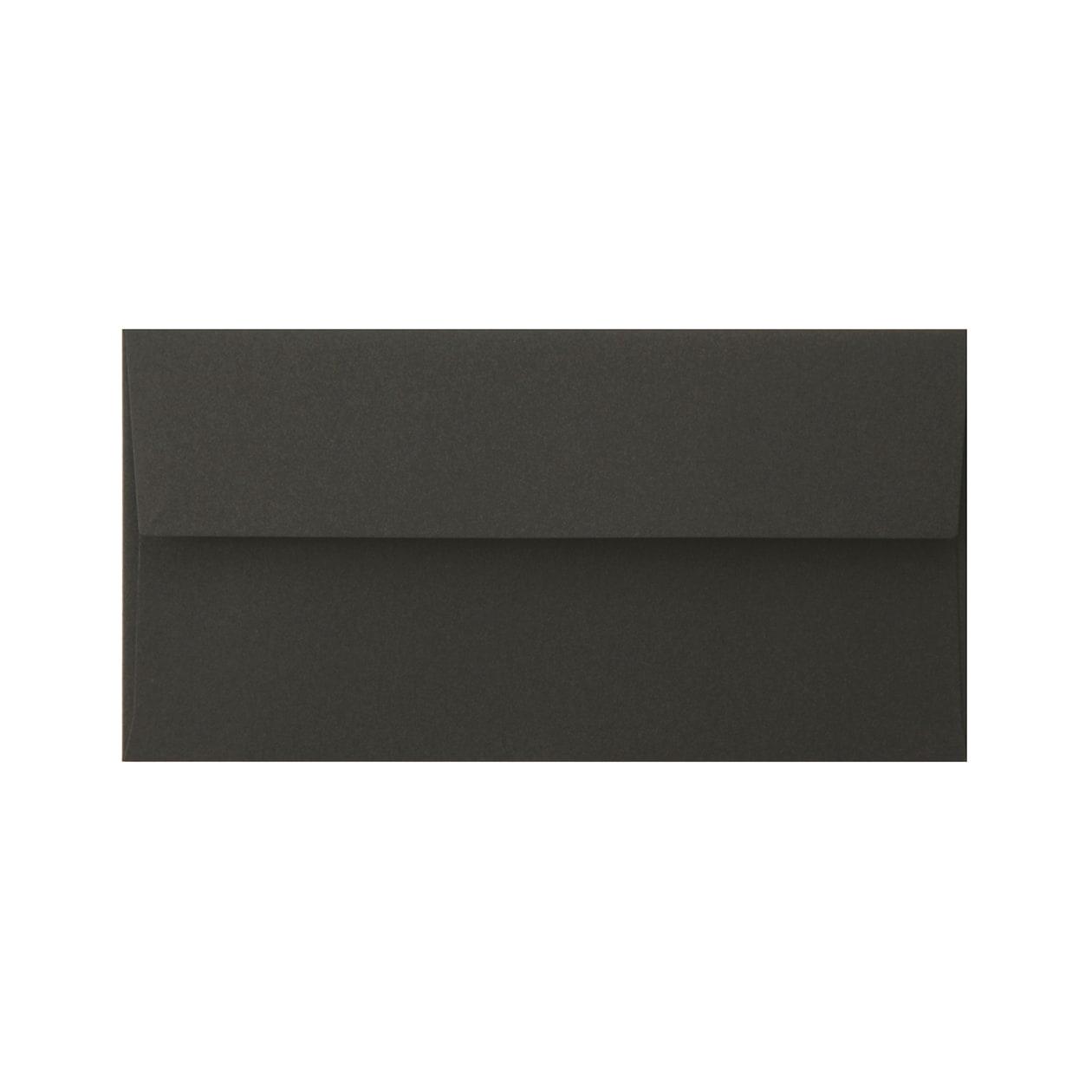 洋6カマス封筒 コットン(NTラシャ) 黒 116.3g