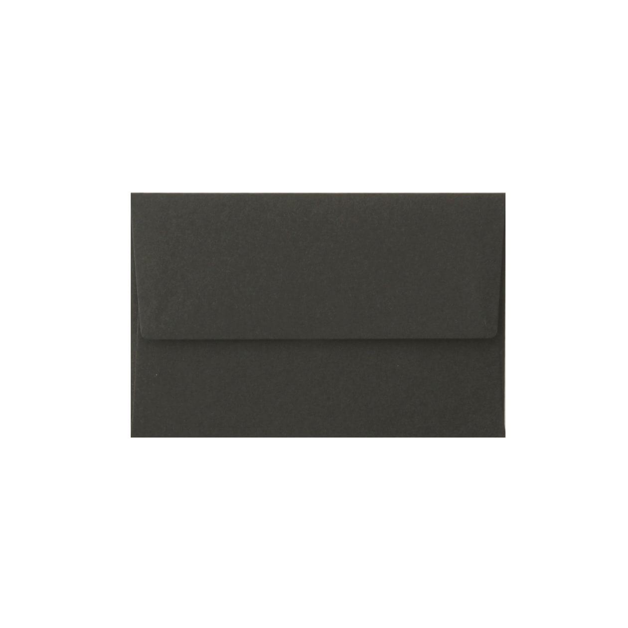 NEカマス封筒 コットン(NTラシャ) 黒 116.3g
