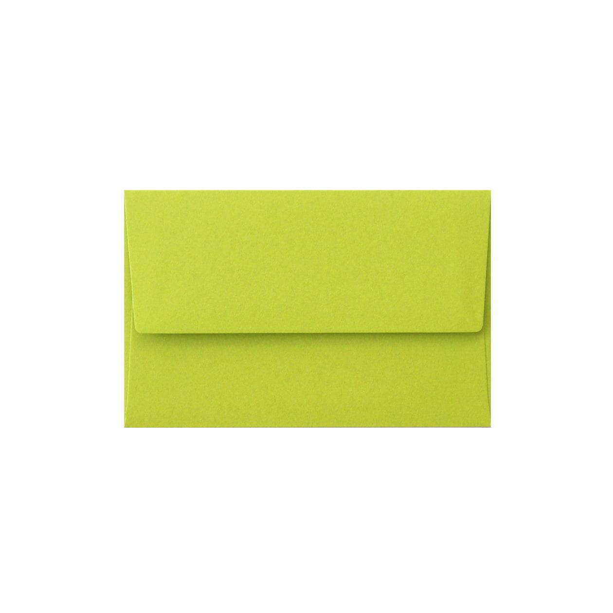 NEカマス封筒 コットン(NTラシャ) 黄緑 116.3g