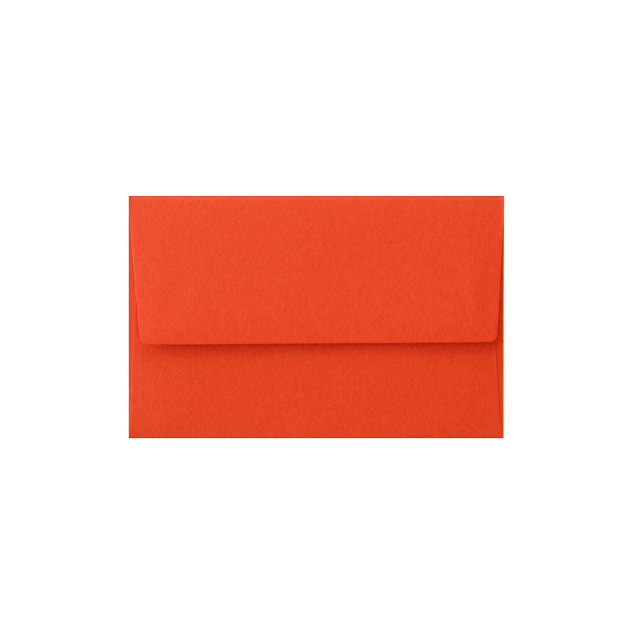 NEカマス封筒 コットン(NTラシャ) 朱 116.3g