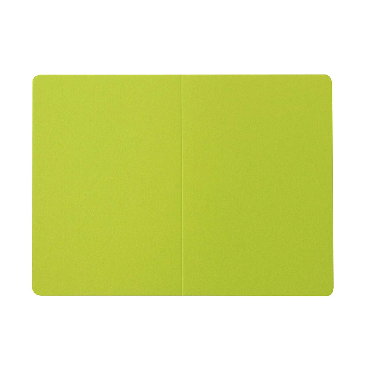 #53VカードR コットン(NTラシャ) 黄緑 151.2g