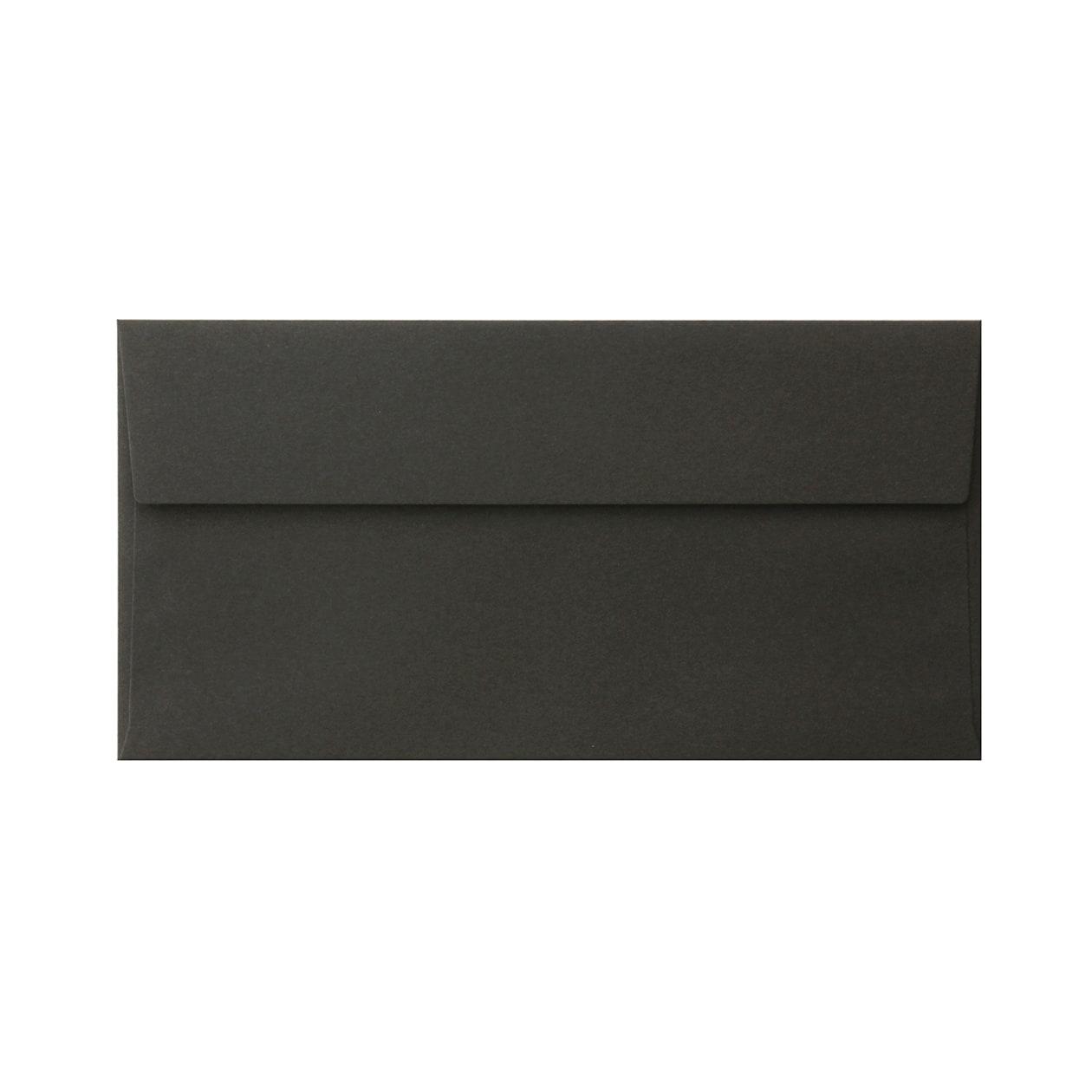長3カマス封筒 コットン(NTラシャ) 黒 116.3g