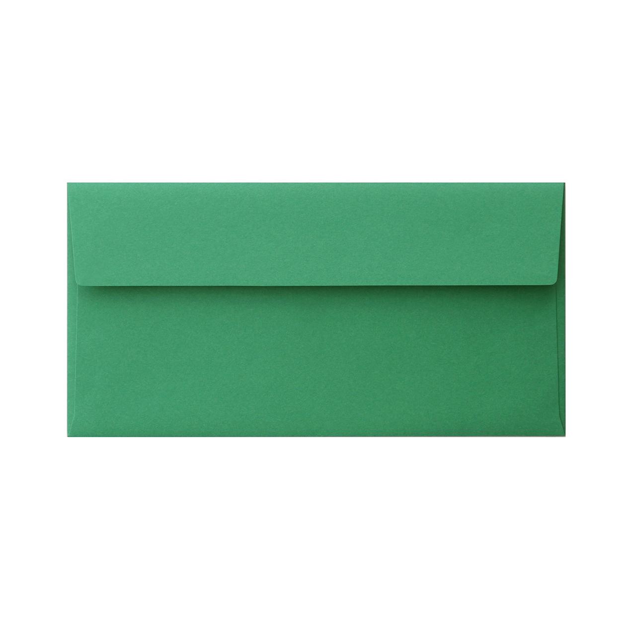 長3カマス封筒 コットン(NTラシャ) 緑 116.3g