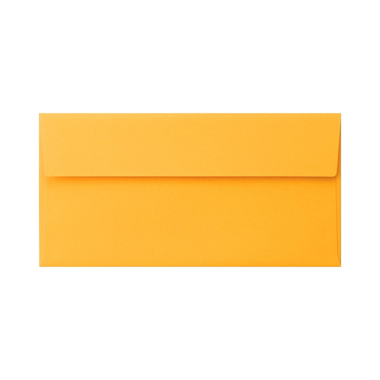 長3カマス封筒 コットン(NTラシャ) 山吹 116.3g