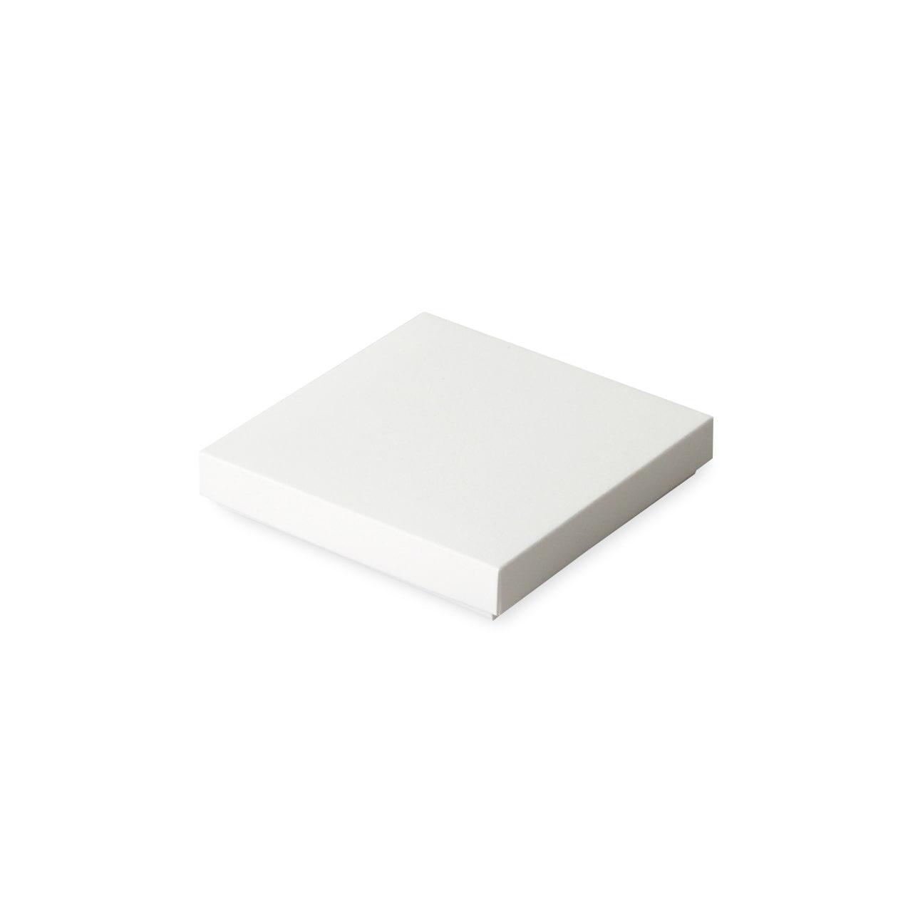 組箱 95×95×15 コットン スノーホワイト 232.8g