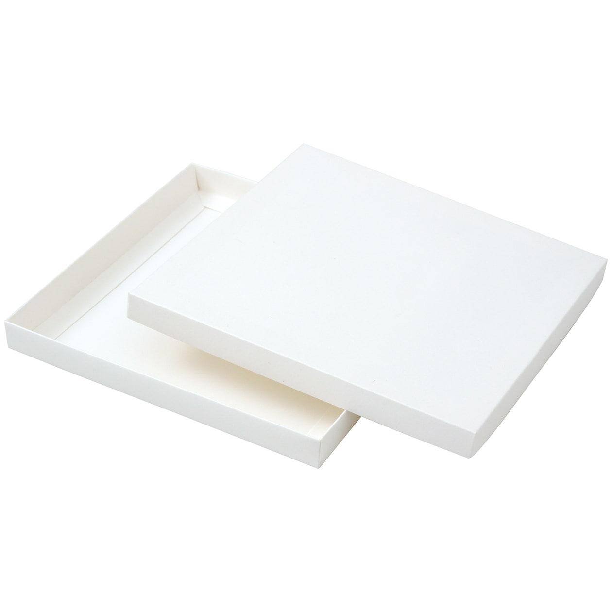 組箱 165×165×15 コットン スノーホワイト 232.8g