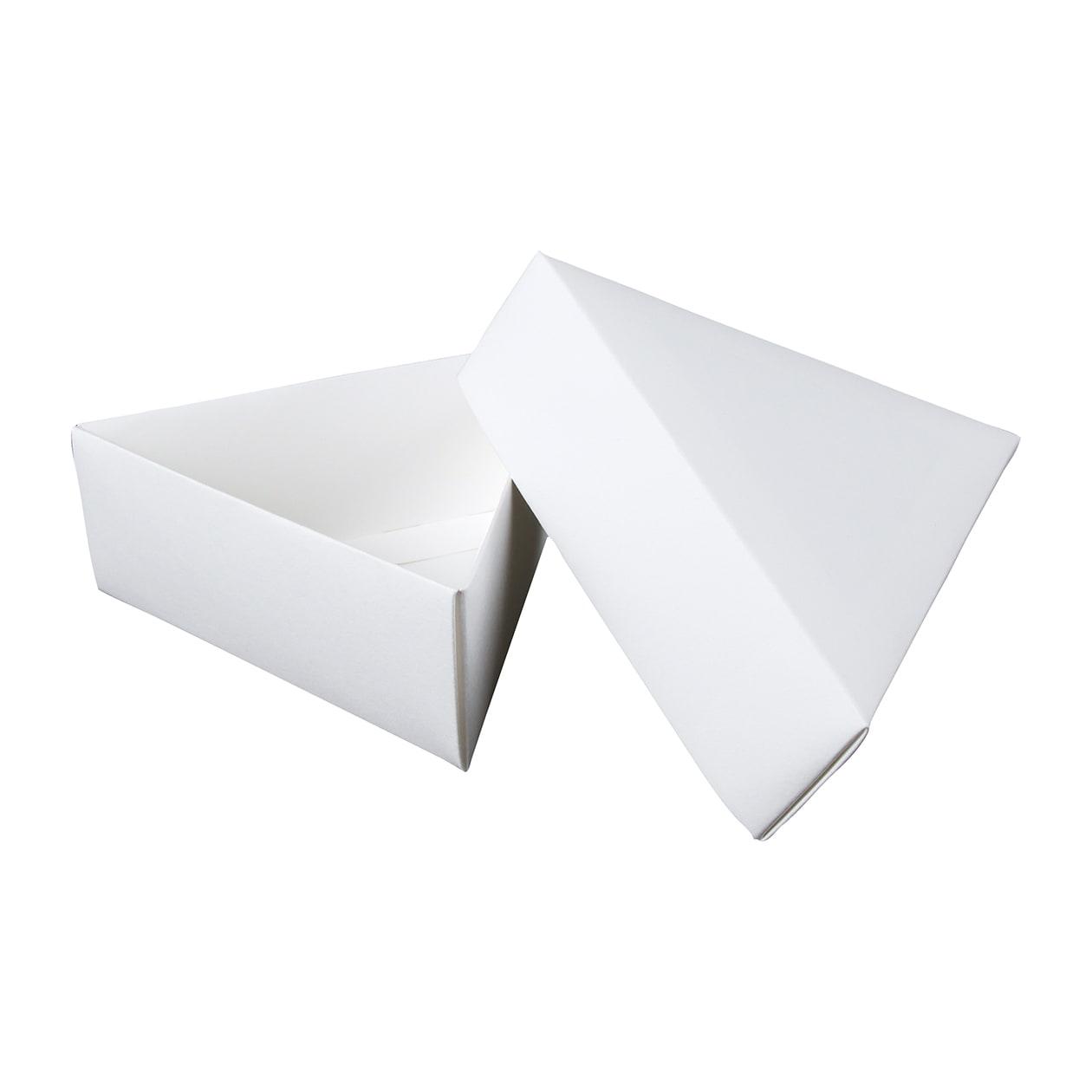 組箱 三角形97×84×38 コットン スノーホワイト 232.8g