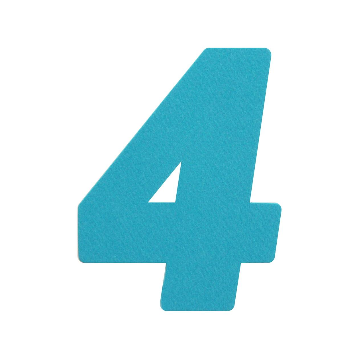 No.394レイヤー PカードDC 数字4