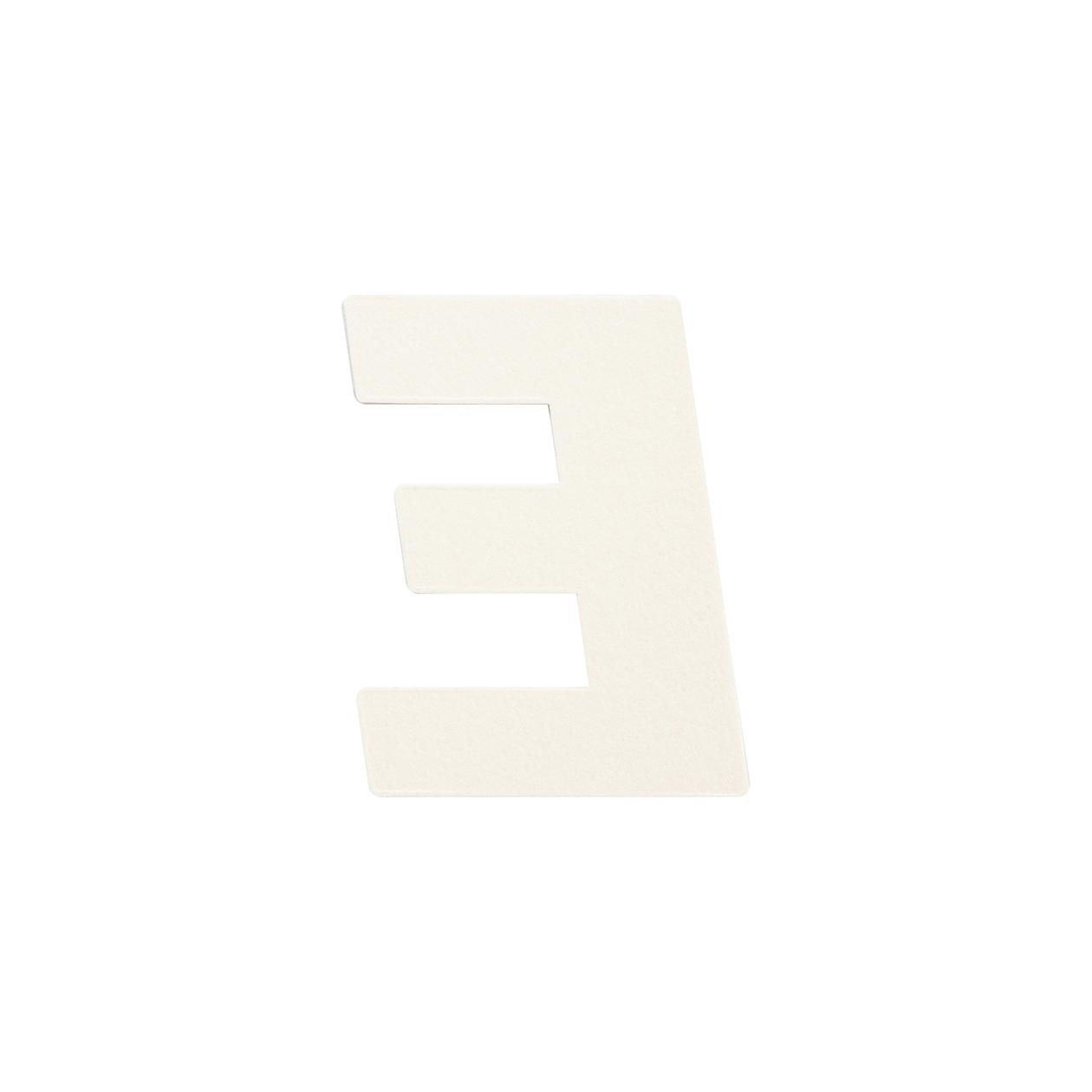No.395ボード A7カードDC 文字E シルバー