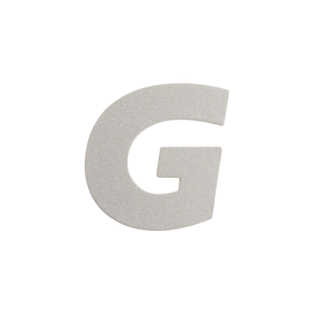 No.395ボード A7カードDC 文字G シルバー