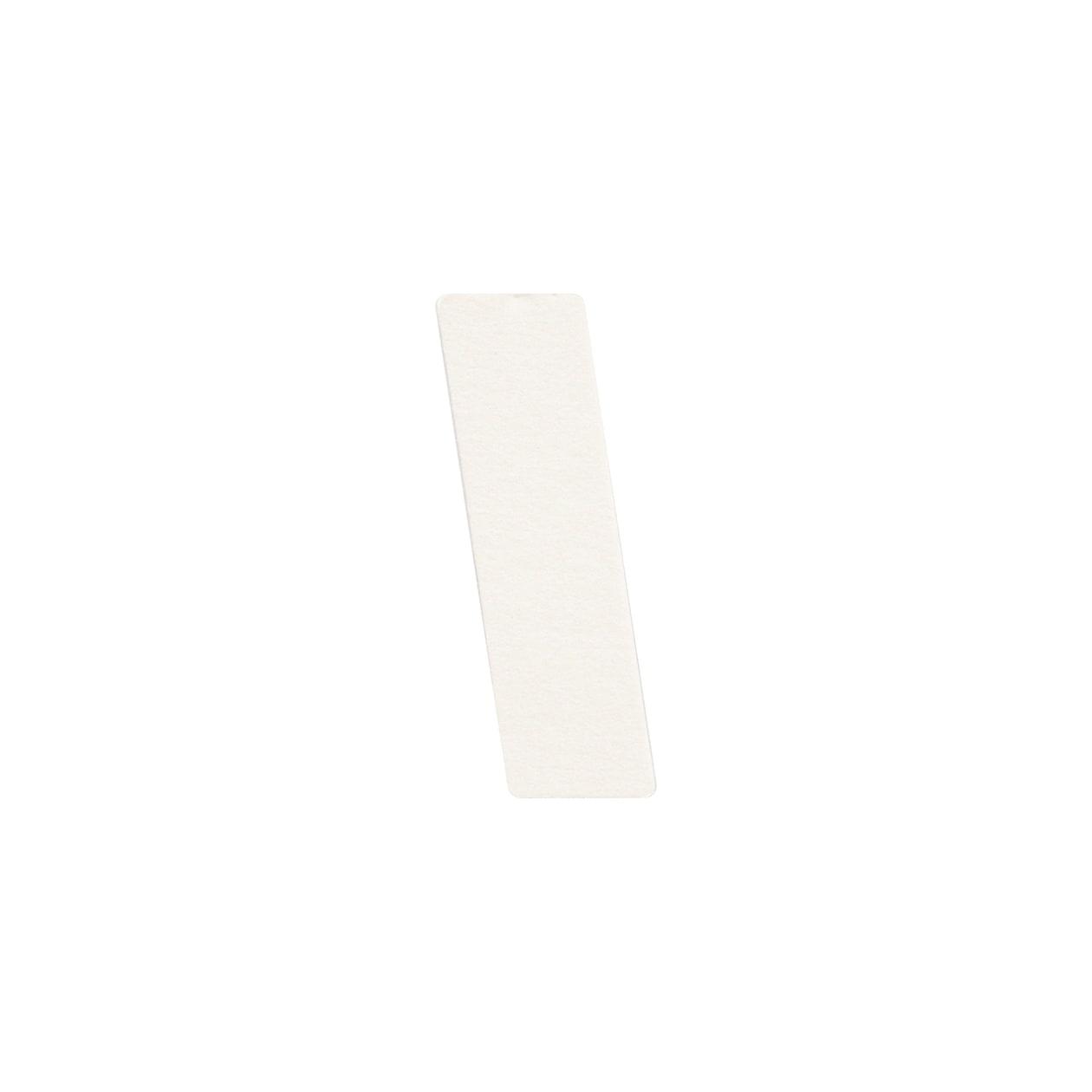 No.395ボード A7カードDC 文字I シルバー