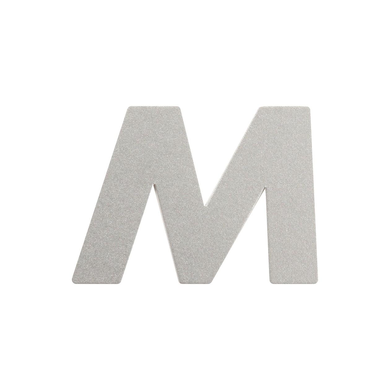 No.395ボード A7カードDC 文字M シルバー