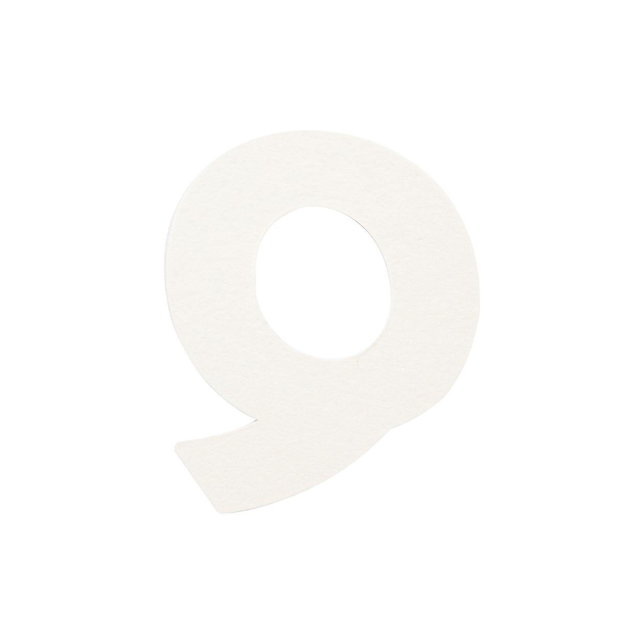 No.395ボード A7カードDC 文字Q シルバー