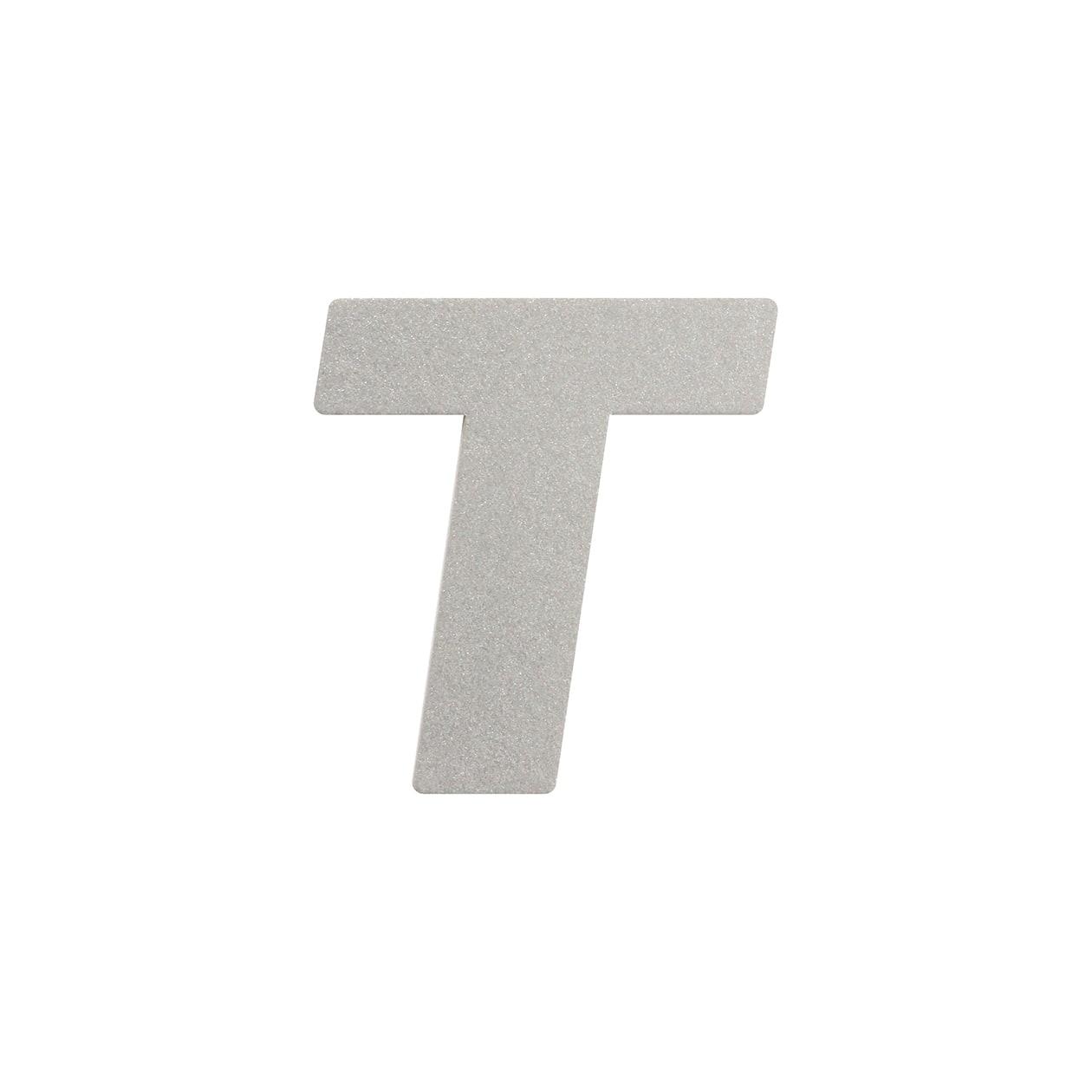 No.395ボード A7カードDC 文字T シルバー