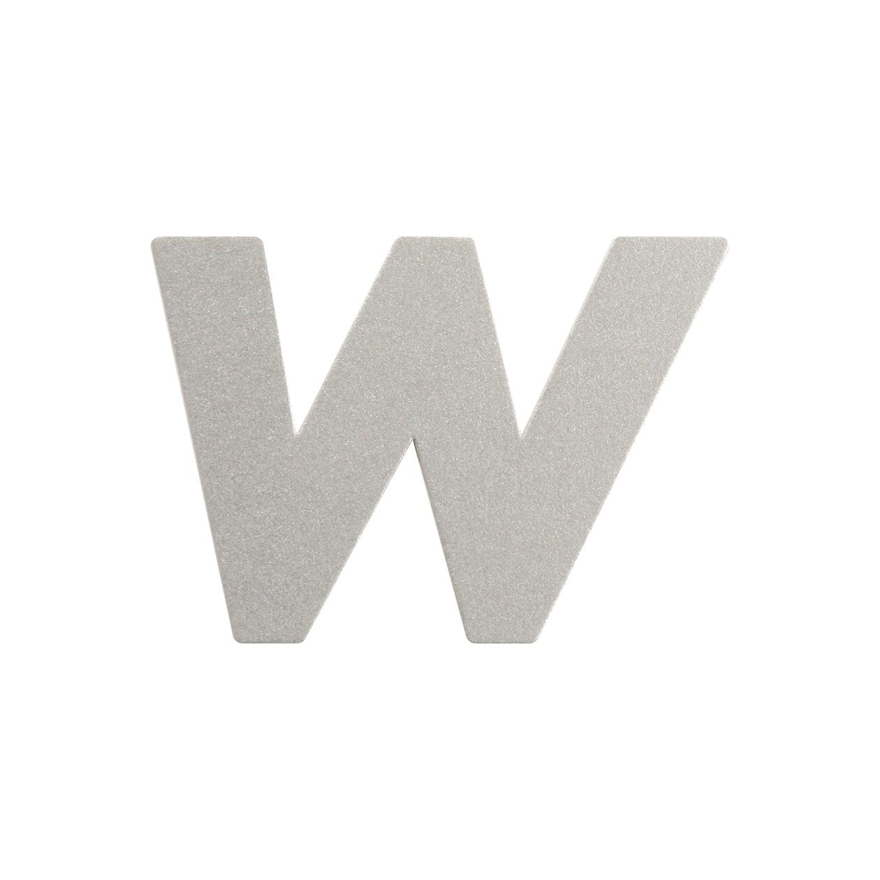 No.395ボード A7カードDC 文字W シルバー
