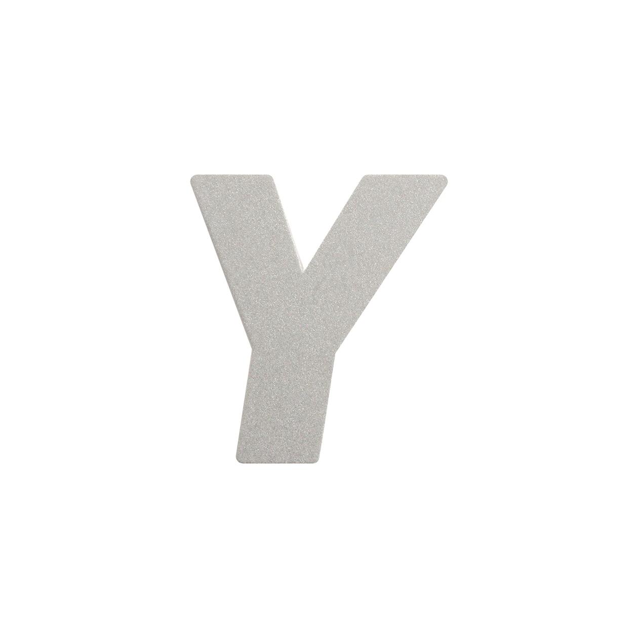 No.395ボード A7カードDC 文字Y シルバー
