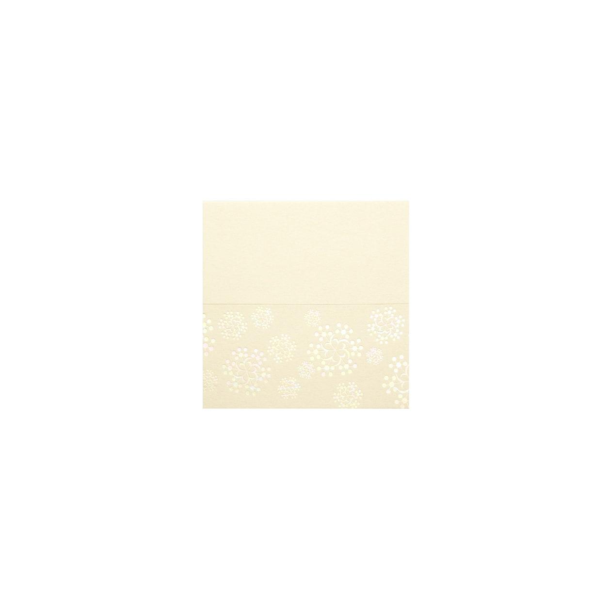 No.550SNOWFLAKE #29Vカード ナチュラル 232.8g
