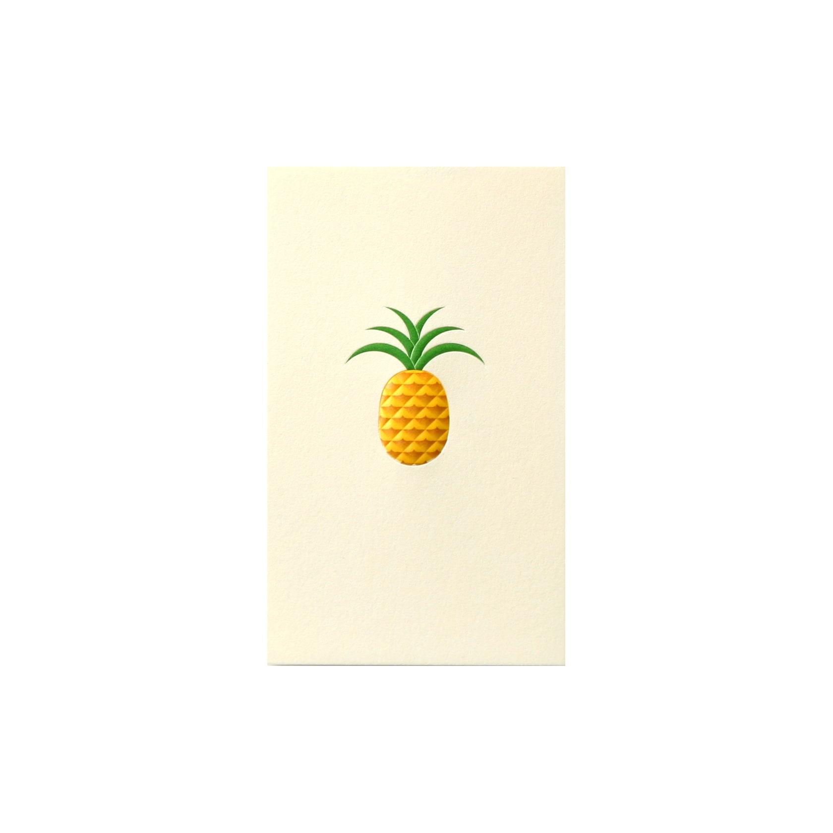 No.700 パイナップル ネームカード