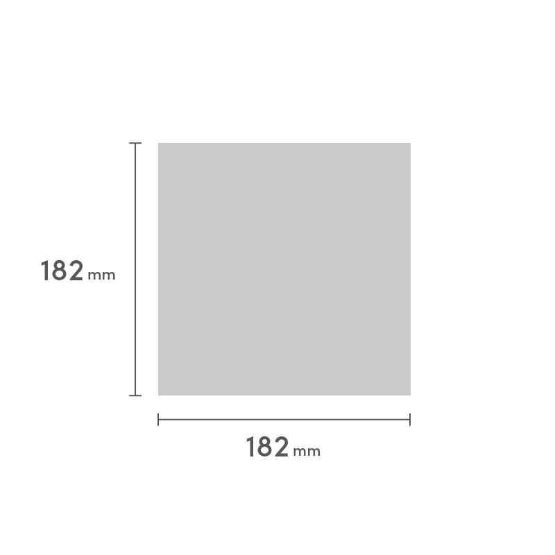 冊子 スクエア182 糸ミシン平綴じ 表紙と本文別仕様