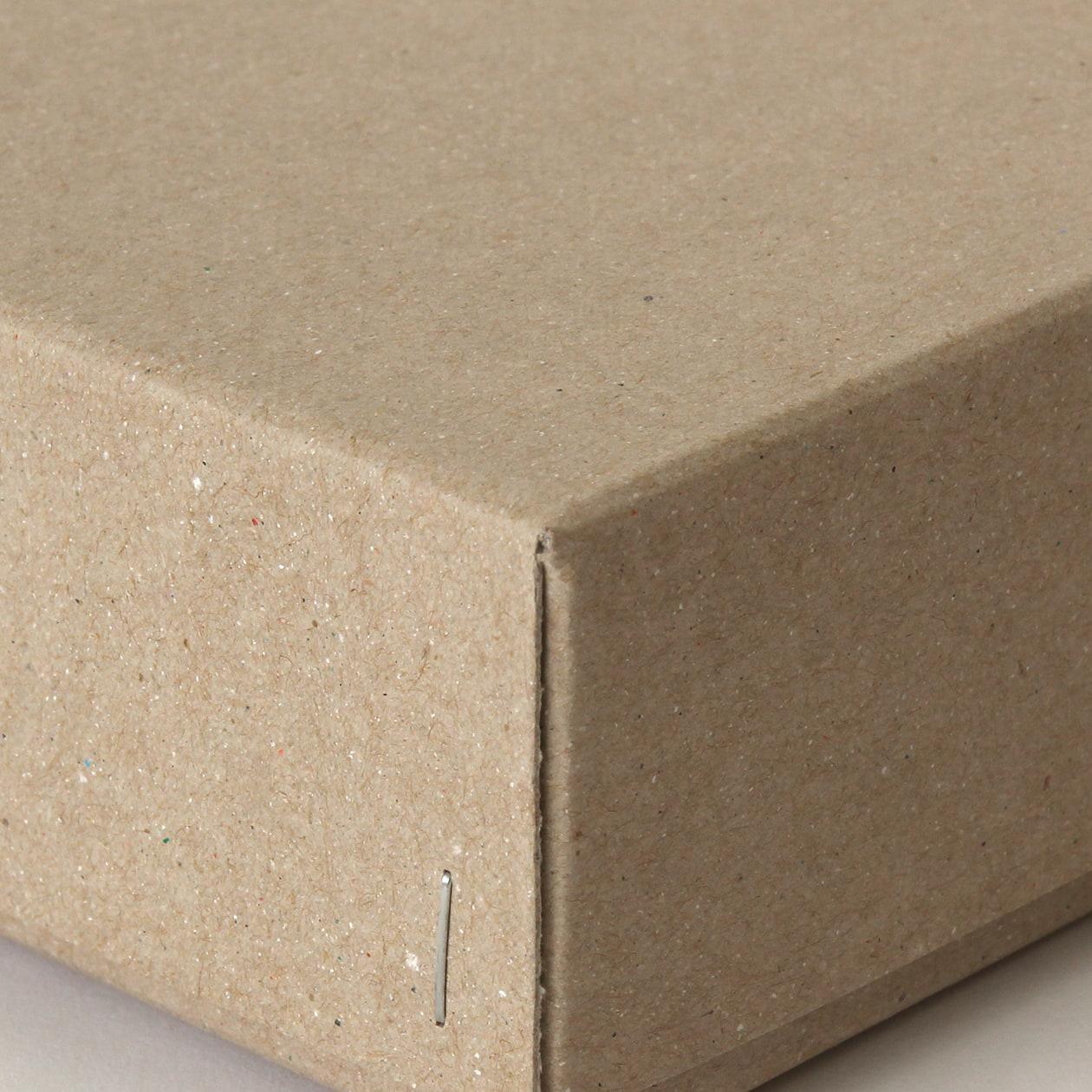 ホッチキス箱 サイズM_4 ボード紙 サンド
