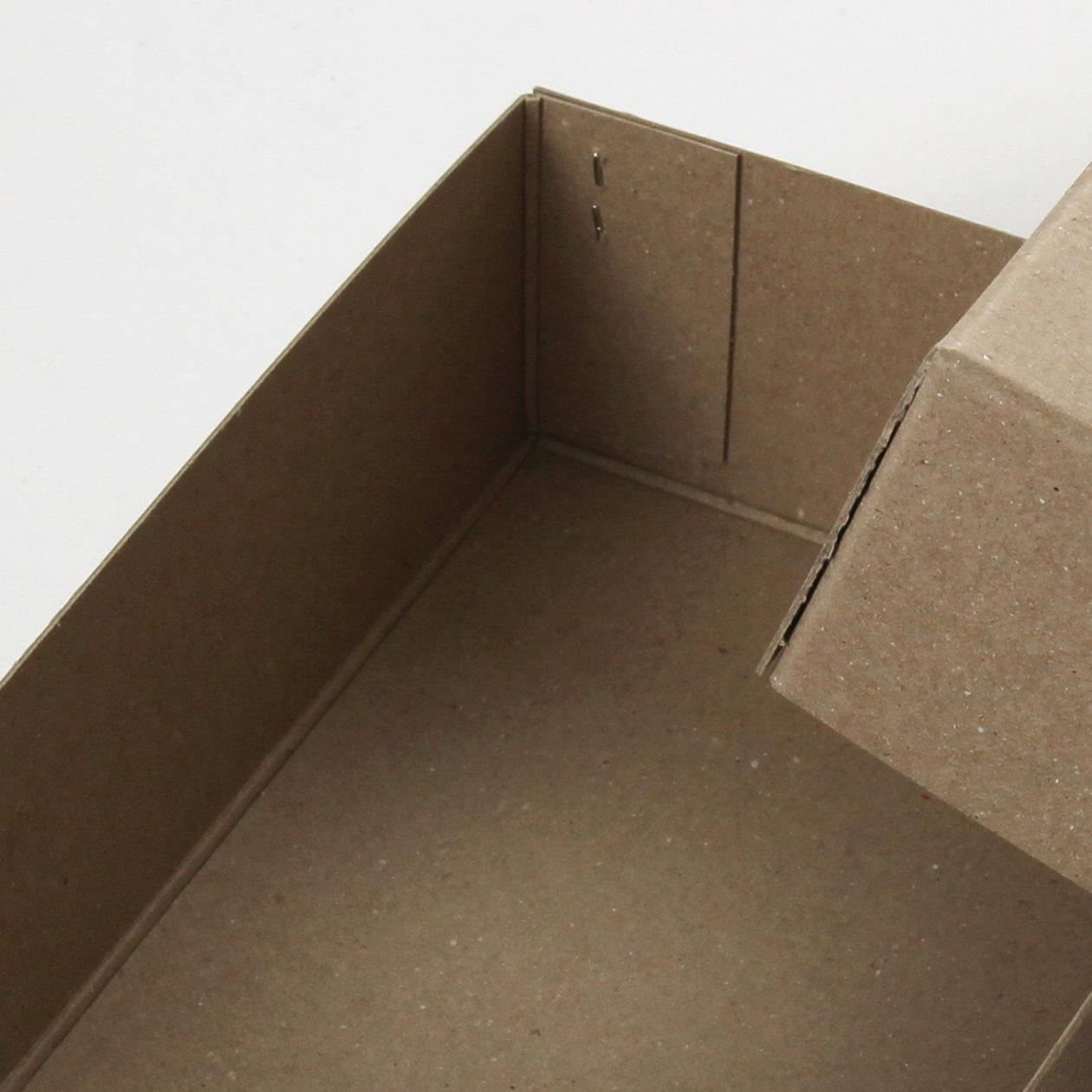 ホッチキス箱 サイズM_2 ボード紙 サンド