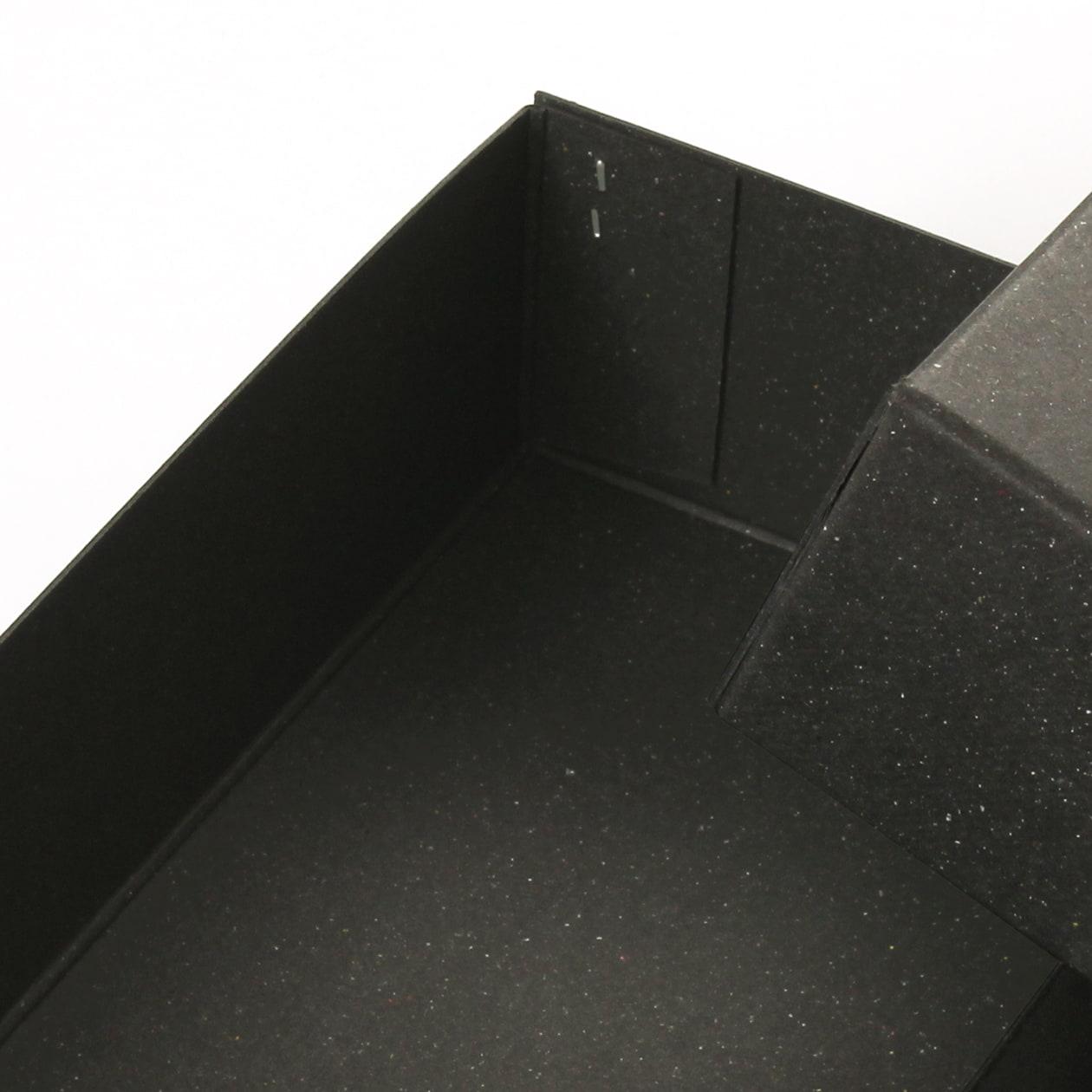 ホッチキス箱 サイズM_2 ボード紙 チャコールグレー