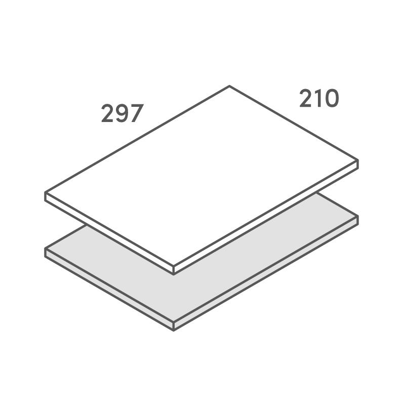 二層合紙オーダー A4カード