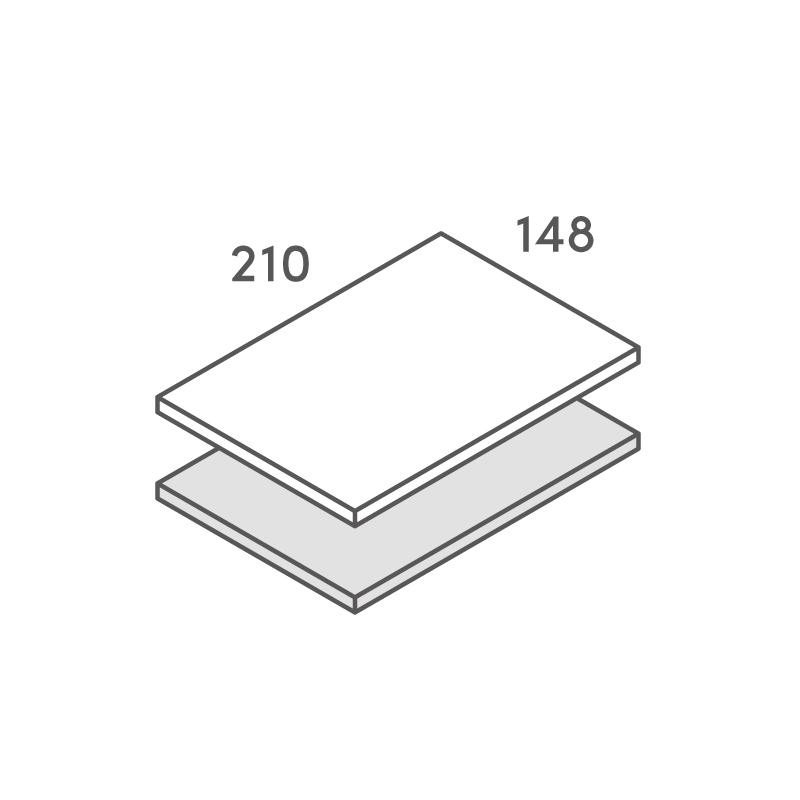 二層合紙オーダー A5カード