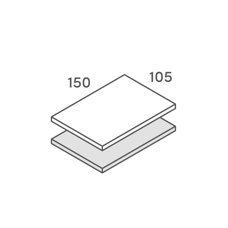 二層合紙オーダー Pカード