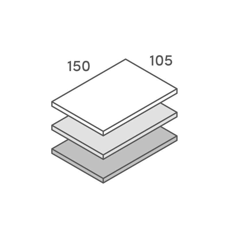 三層合紙オーダー Pカード