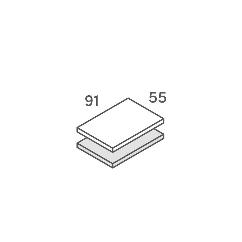 二層合紙オーダー ネームカード