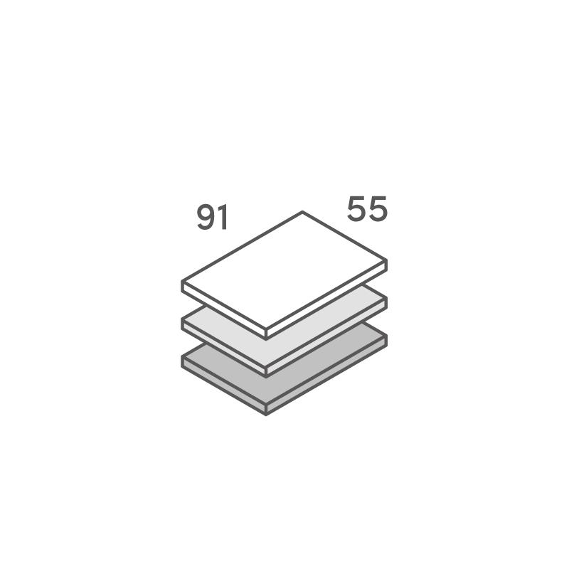 三層合紙オーダー ネームカード
