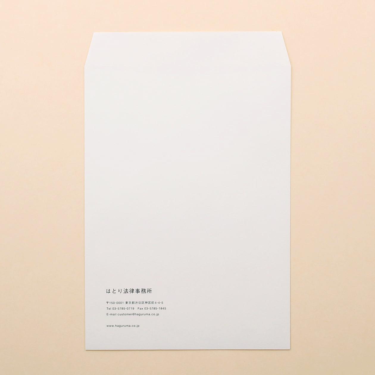 角2社用封筒(デジタルブラック) 100枚