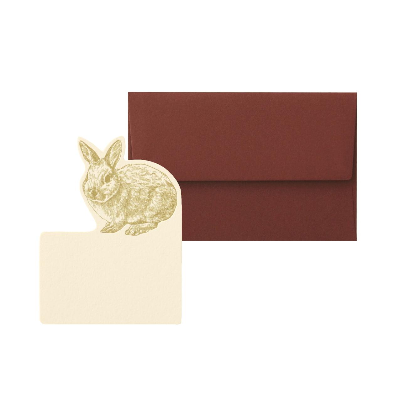 No.602 ウサギ ミニカードセット