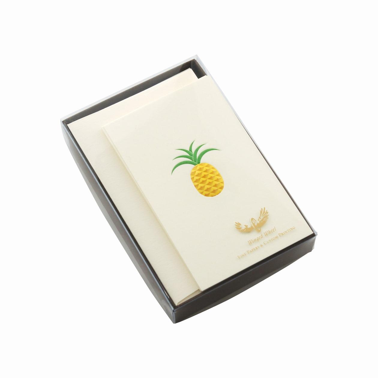 No.700 パイナップル ミニカードセット