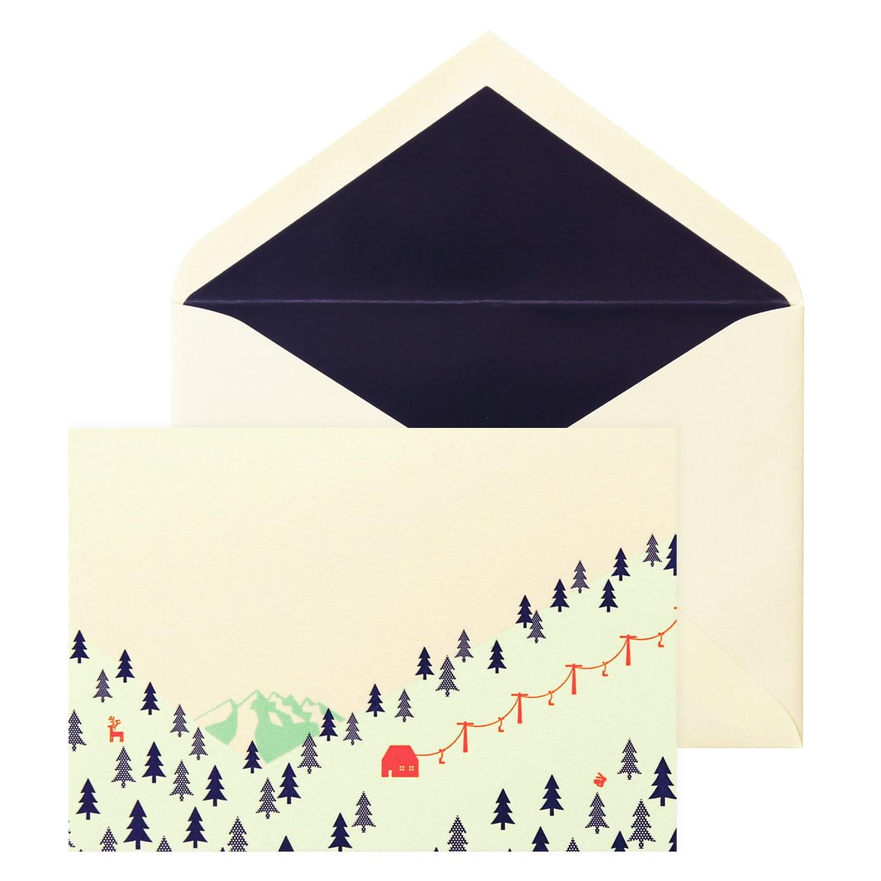 No.710 雪山 Pカードセット
