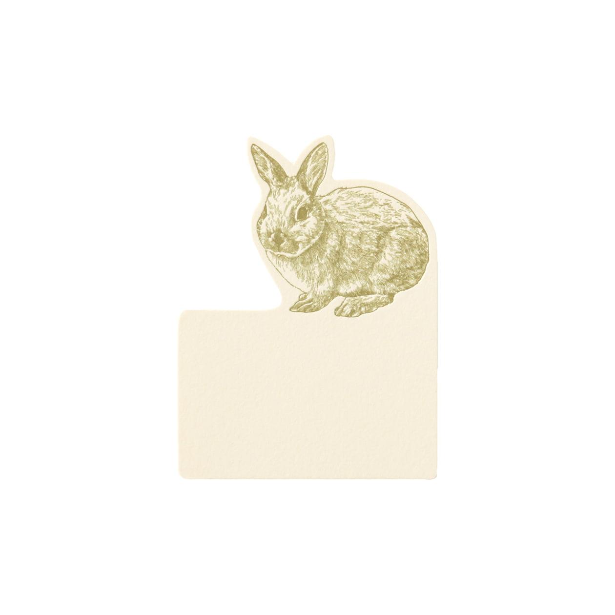 No.602 ウサギ ネームカードDC