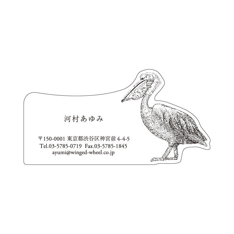 No.602 ペリカン ネームカードDC