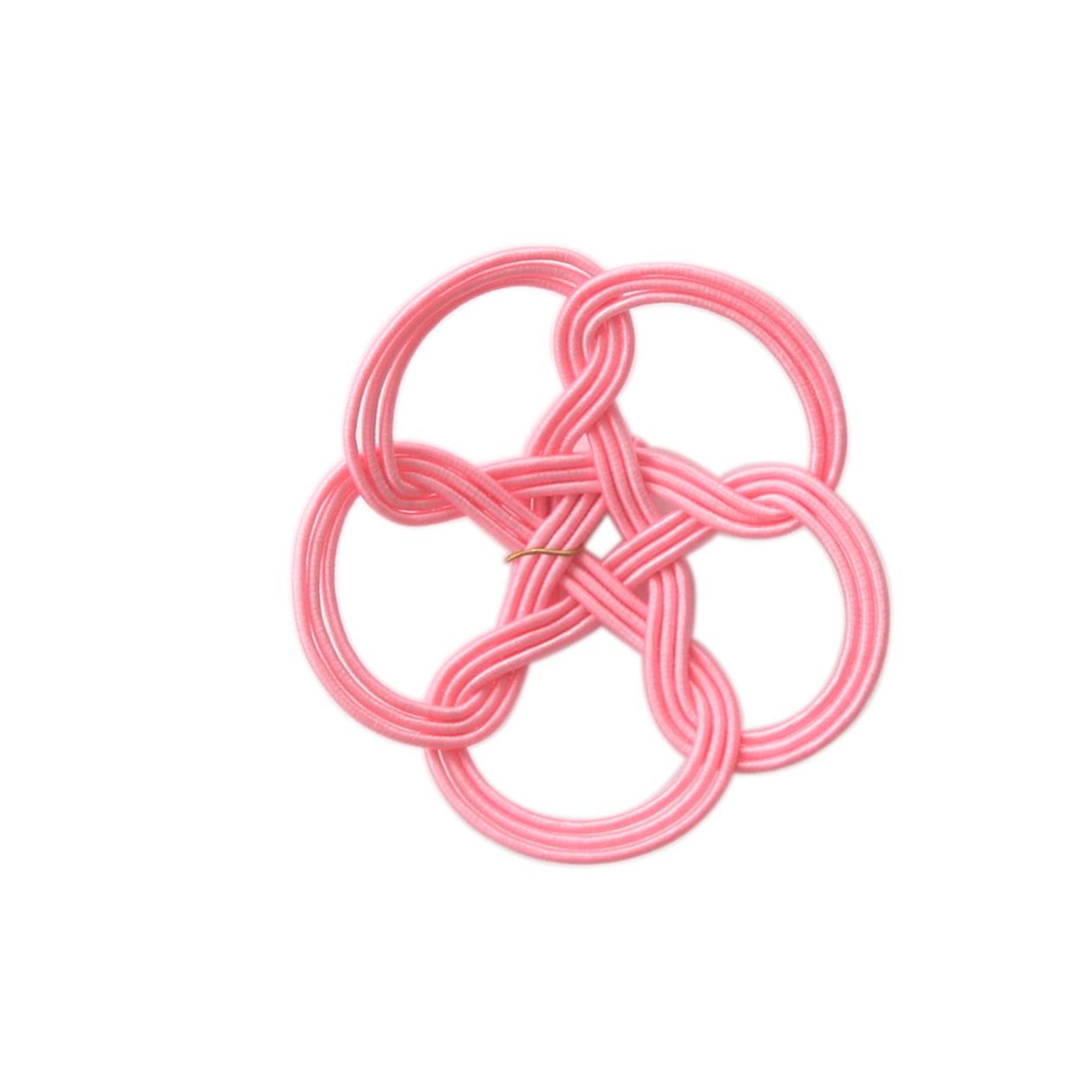 水引 桃 ピンク