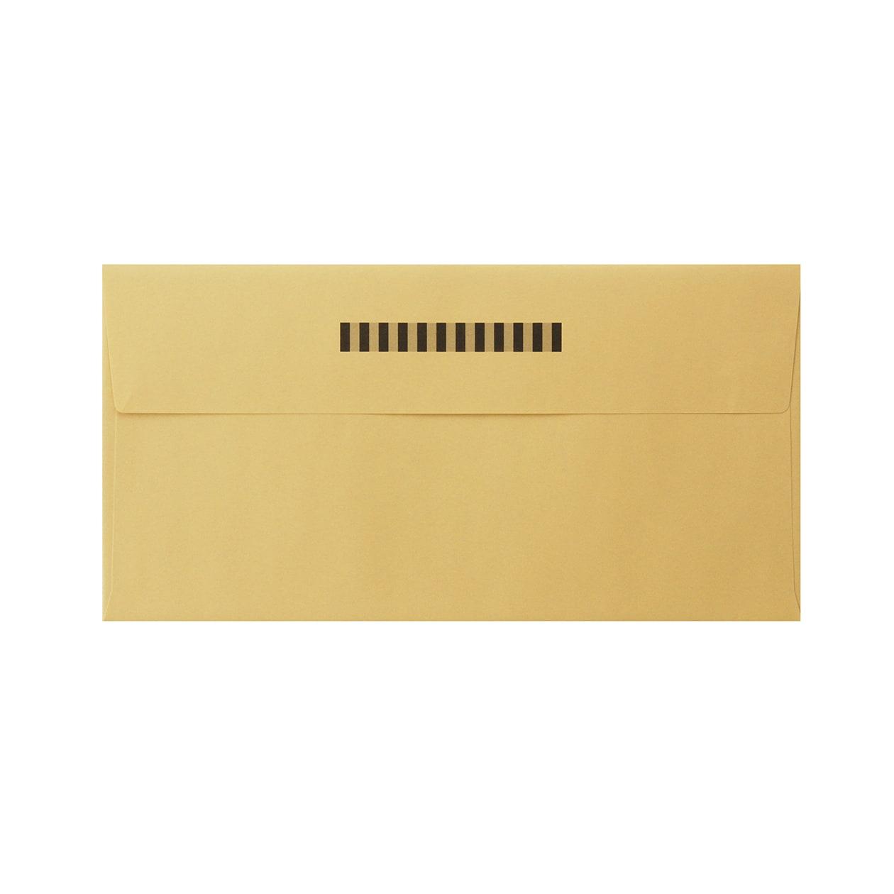 見本 00003 長3カマス封筒 上質カラー ゴールド 97.4g