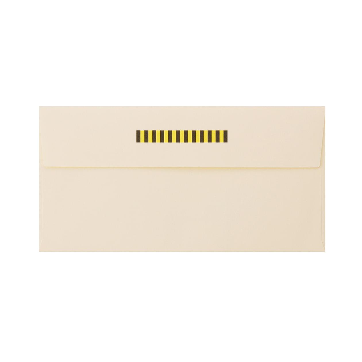 見本 00004 長3カマス封筒 コットン ナチュラル 116.3g
