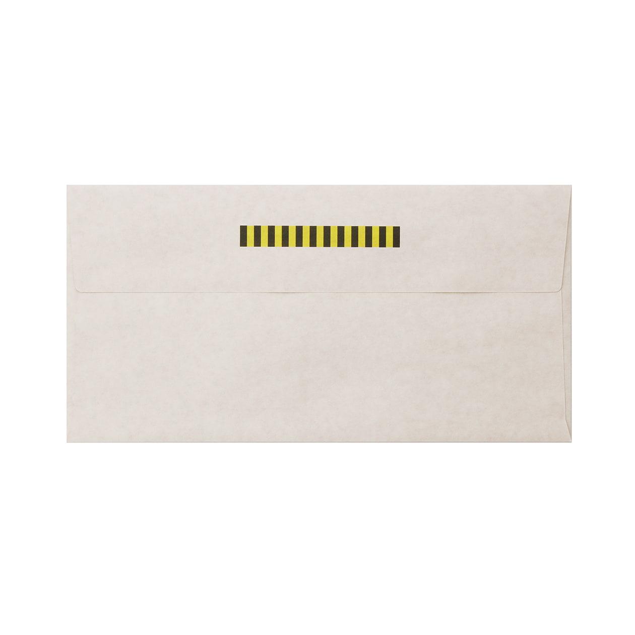 見本 00005 長3カマス封筒 ホワイトクラフト 100g