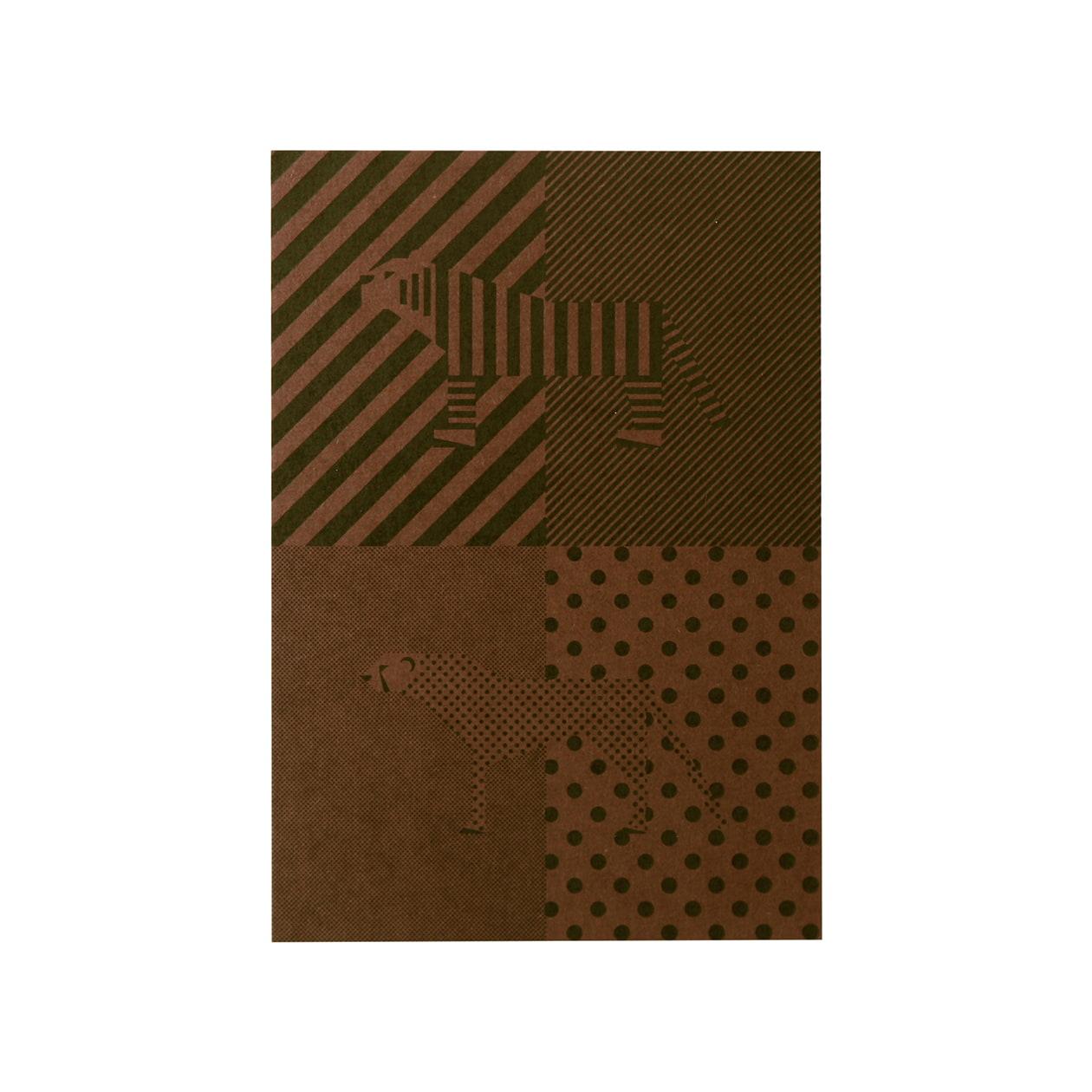 見本 00018 Pカード ボード紙 チョコレート 450g