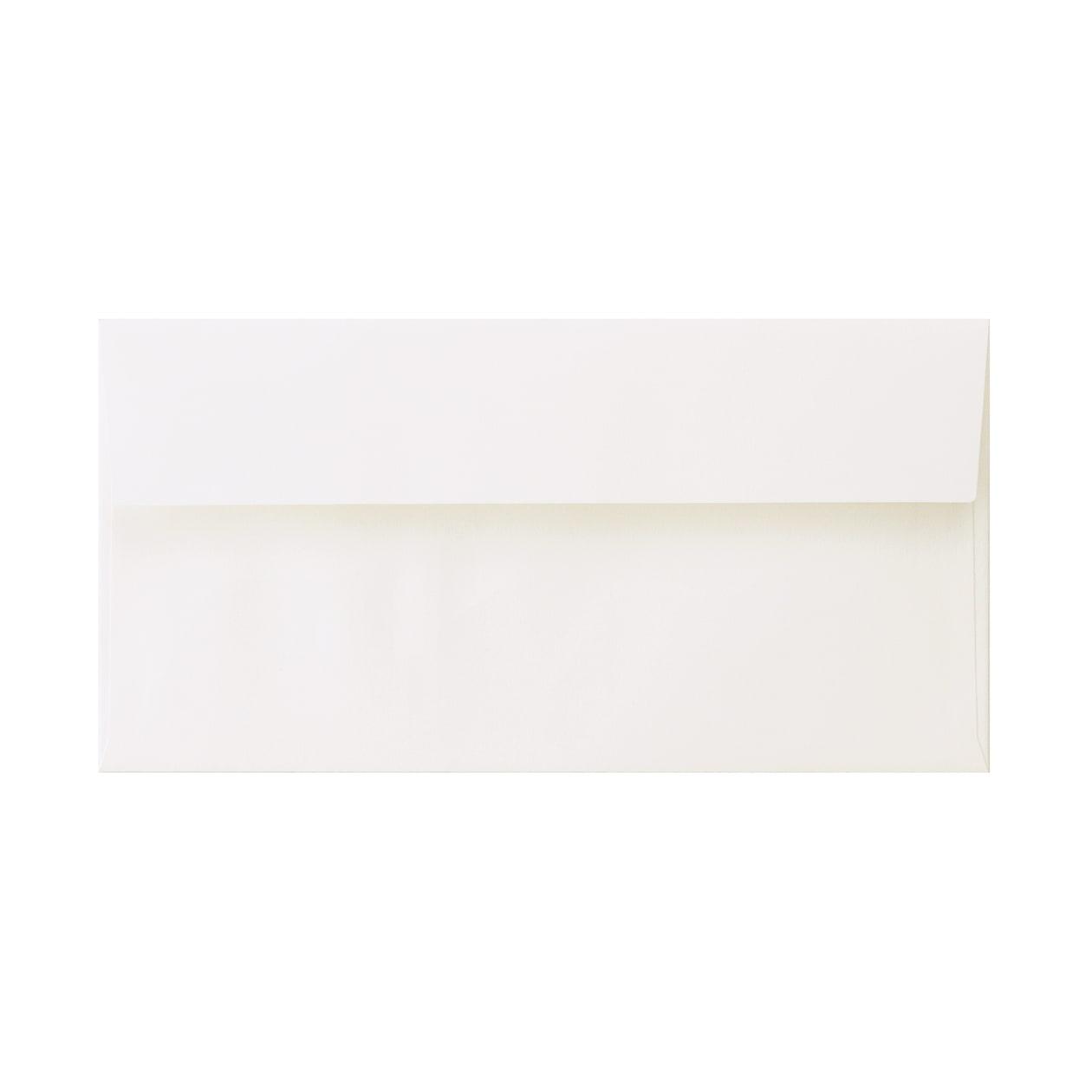 見本 00022 長3カマス封筒 コットン スノーホワイト 116.3g