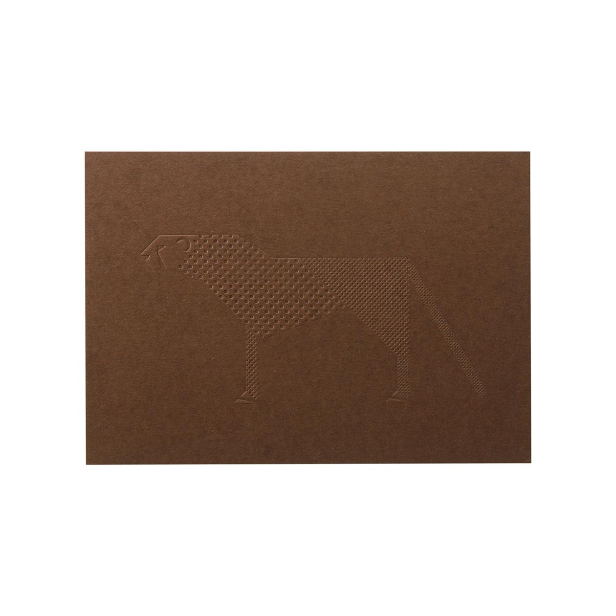 見本 00034 Pカード ボード紙 チョコレート 450g