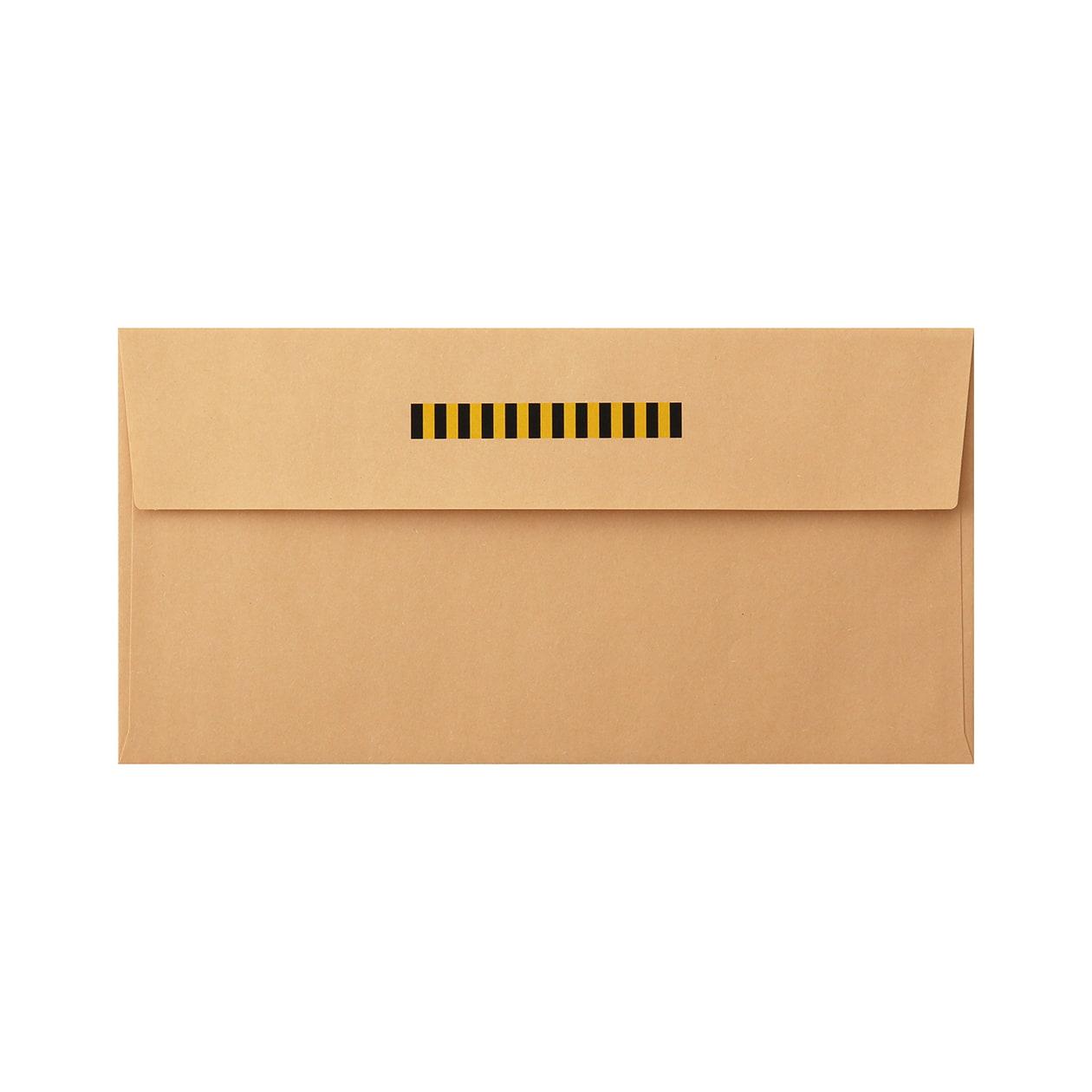 見本 00218 長3カマス封筒 クラフト 85g