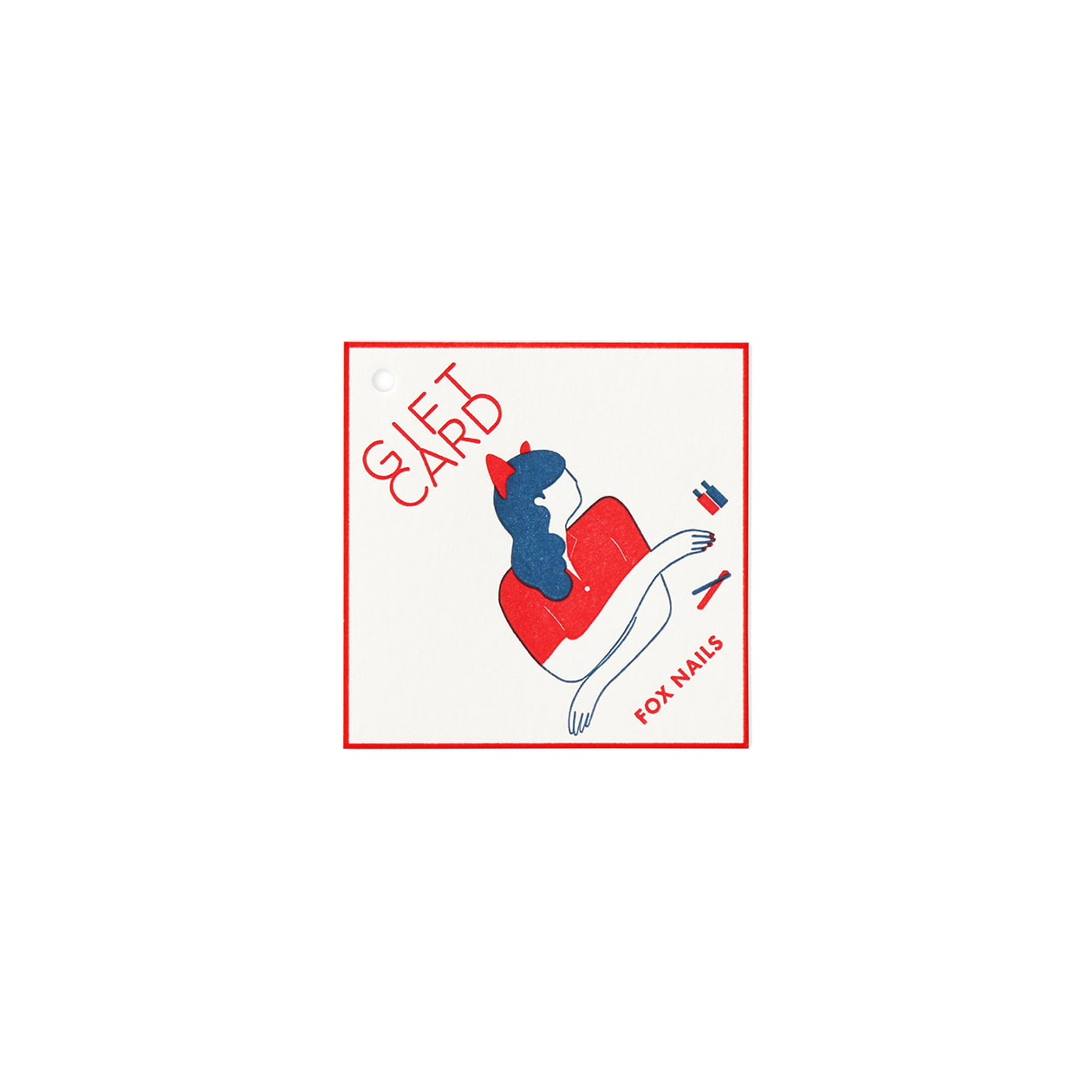 サンプル カード(タグ)00411