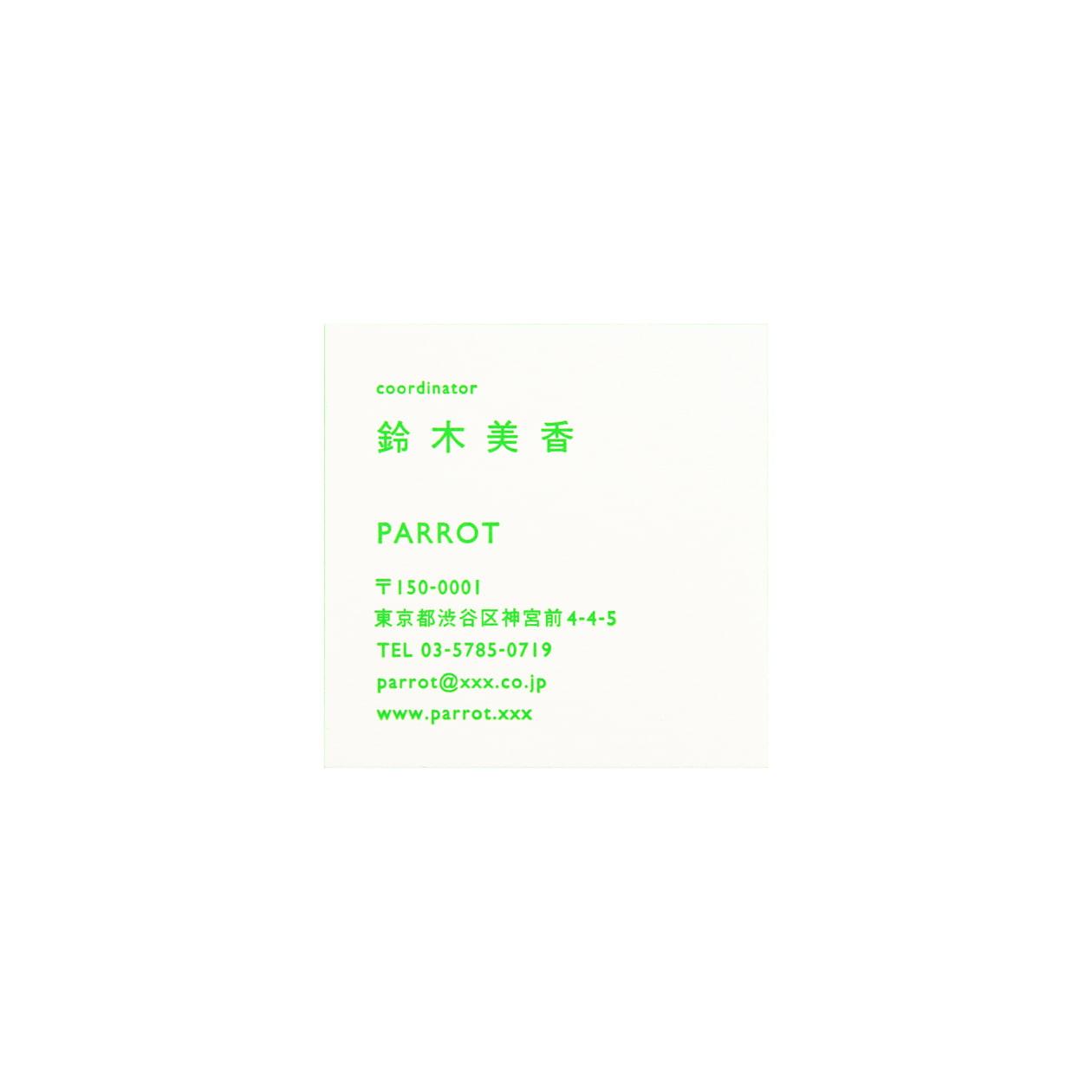 サンプル カード・シート 00493